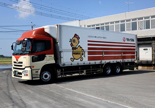 輸送まで含めた品質の徹底管理